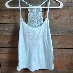 Lace Racerback Bride Tank from Nordstrom